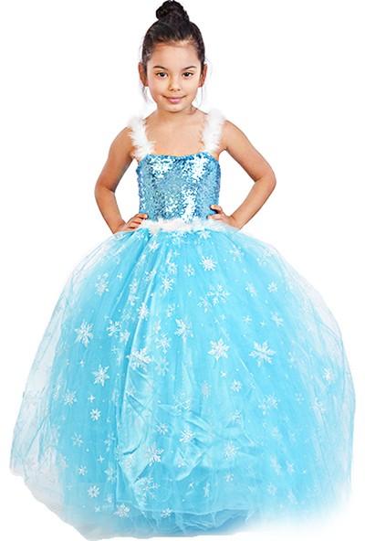Masho Trend Tarlatanlı Elsa Kostümü