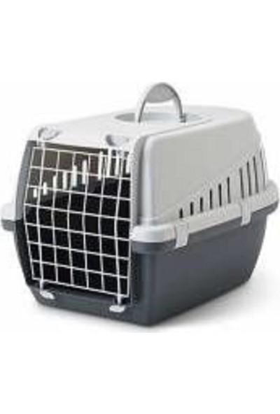 Savic Trotter (3) Retro Gri Kedi Ve Köpek Taşıma Kafesi