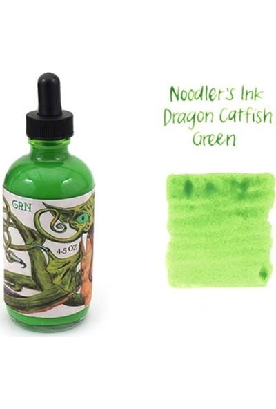 Noodlers Şişe Mürekkep Dragon Catfish Green 4.5 Oz 19816