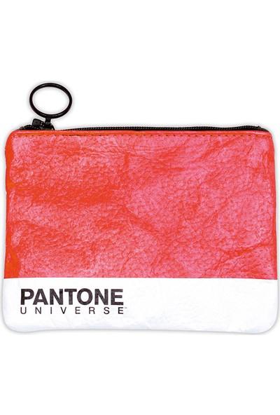 Pantone C1 Bozuk Para Cüzdanı - Kırmızı