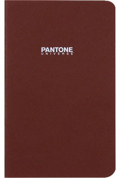 Pantone Large Boy Çizgisiz Defter Kahverengi 47211-9