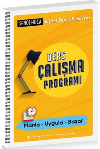 Şenol Hoca Yayınları Ders Çalışma Programı