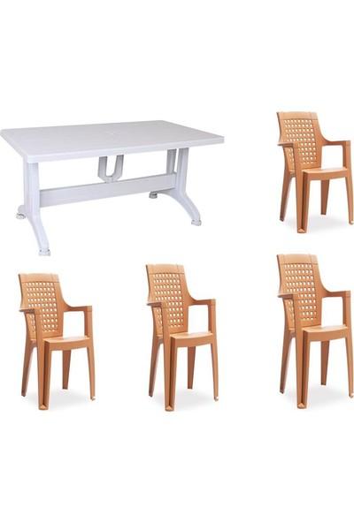 Comfort Rattan Balkon Mutfak Bahçe Sandalyesi