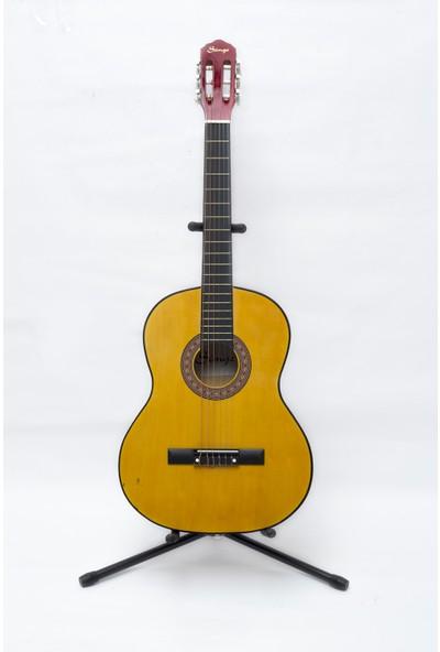 Simge Klasik Gitar SARI 39,5 İNÇ 4/4 Tam Boy KILIF+PENA HEDİYE