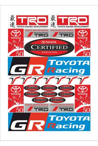 Stickermarket Toyota Sticker Seti