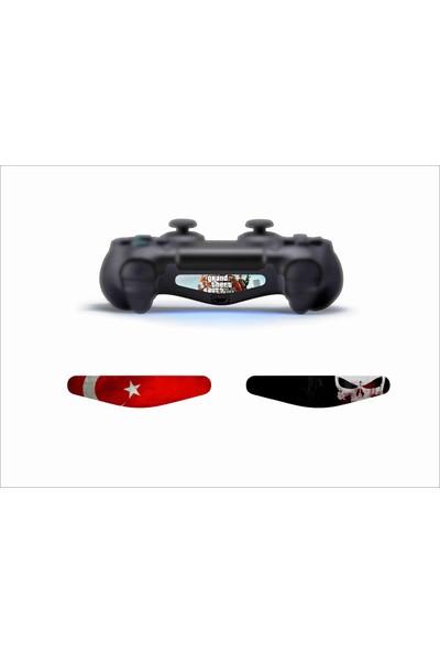 Stickermarket Dualshock Lightbar Renkli Sticker Seti