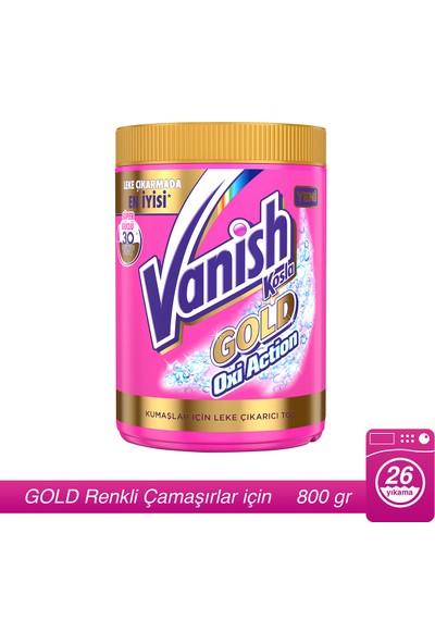 Vanish Kosla Leke Çıkarıcı Gold Toz 800gr Renkliler için