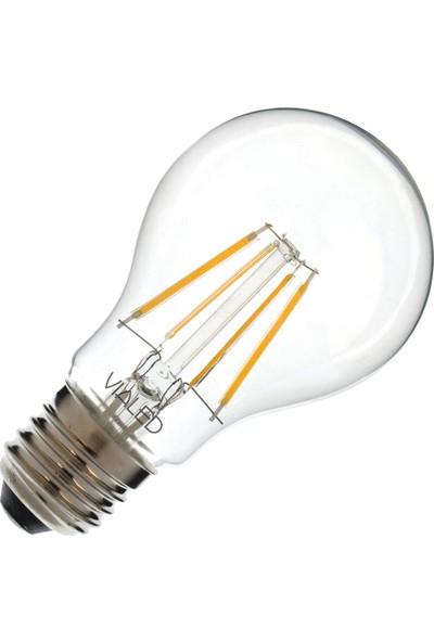 Vialed 4W(40W) Led Filament Ampul A60-COG/E27 2700K