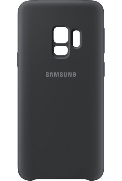 Samsung S9 Silicone Kılıf Siyah - EF-PG960TBEGWW