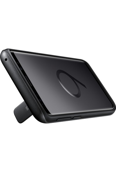 Samsung S9 Protective Standing Kılıf Siyah - EF-RG960CBEGWW
