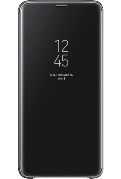 Samsung S9 Plus Clear View Standing Kılıf Siyah - EF-ZG965CBEGWW