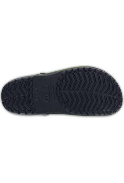 Crocs Crocband Lacivert-Yeşil-Sarı Unisex Terlik
