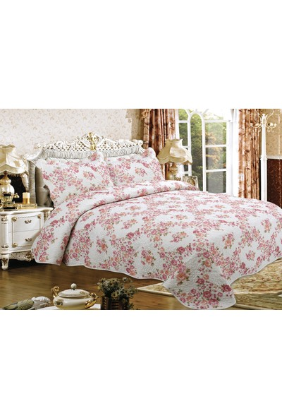 Casa Bravia Gardenia Çift Kişilik Pamuklu Yatak Örtüsü