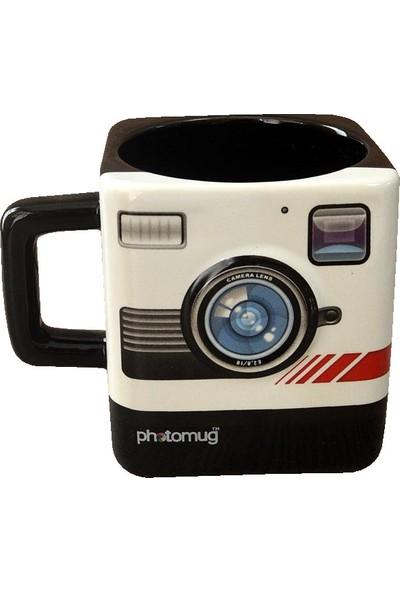 Mnk Polaroid Fotoğraf Makinesi Tasarım Kupa Bardak (Polaroid Mug)