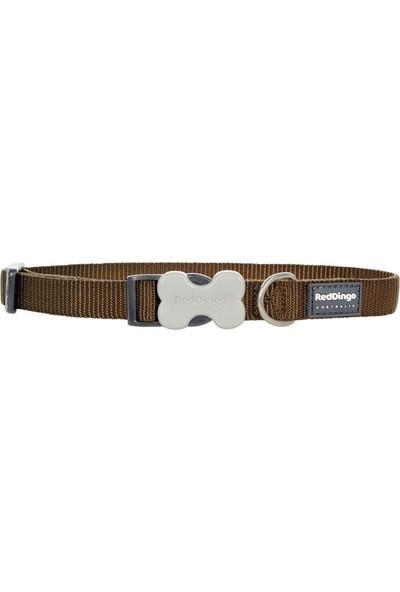 Reddingo Klasik Kahverengi Köpek Boyun Tasması 20 Mm
