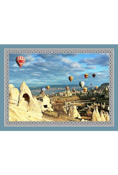 Popvitrin Tablo Halı - Kapadokya 50 x 70 cm