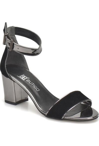 Butigo 18S-089 Siyah Kadın Ayakkabı