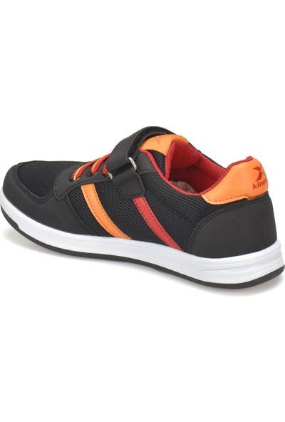 Gs Upton J Siyah Kırmızı Sarı Erkek Çocuk Sneaker