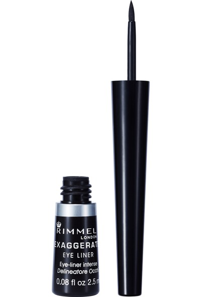 Rimmel London Exaggerate Eyeliner 001 100% Black