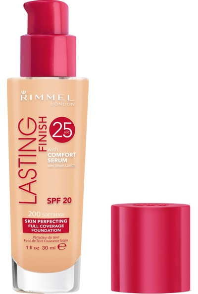 Rimmel London Lasting Finish Fondöten 200-SOFT BEI