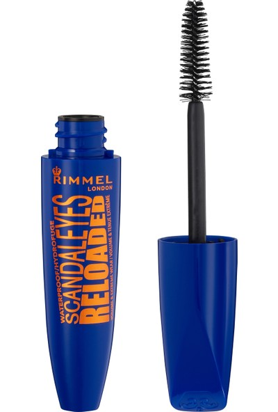Rimmel London SCANDAL'EYES Reloaded Volume & Extreme Wear Waterproof Maskara - 001 Black