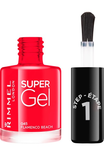 Rimmel London SUPER GEL Oje 045-Flamenco Beach