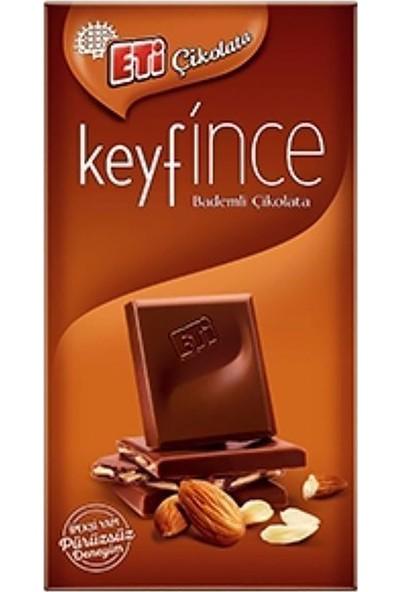 Eti Keyf İnce Bademli Çikolata 12 ad