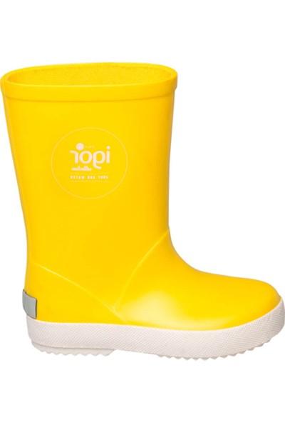 Igor W10107-08 Sarı Unisex Çocuk Yağmur Çizmesi