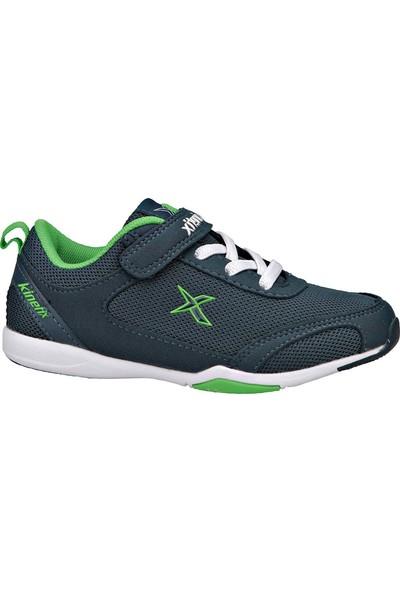 Kinetix 1237052 Petrol Yeşil Beyaz Erkek Çocuk Yürüyüş Ayakkabısı