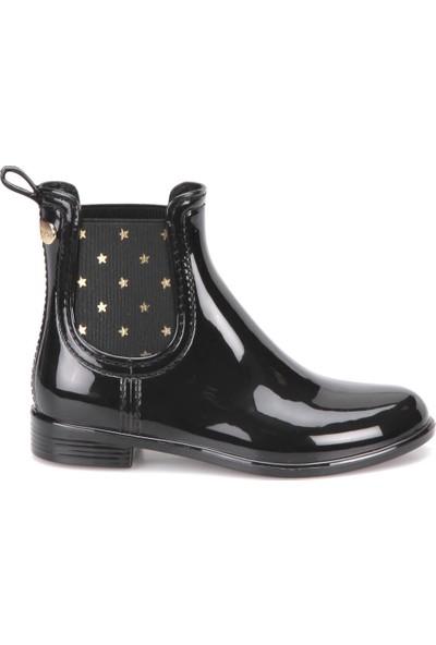 Igor W10147-02 Siyah Kız Çocuk Yağmur Çizmesi