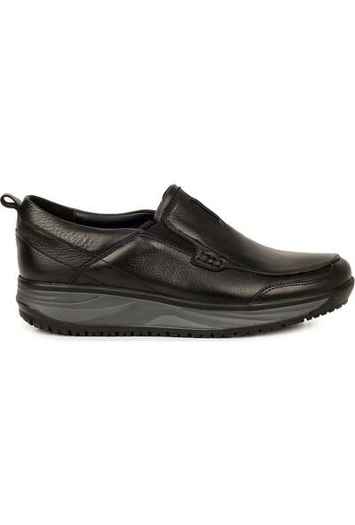Sail Laker's Siyah Yüksek Taban Günlük Ayakkabı
