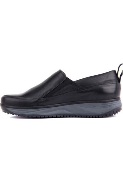 Sail Laker's Siyah Yüksek Taban Günlük Ayakkabı 101 2851