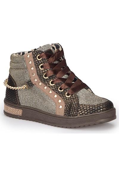 Polaris 72.509668.F Kahverengi Kız Çocuk Sneaker