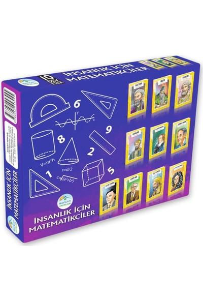 İnsanlık İçin Matematikçiler Seti 10 Kitap