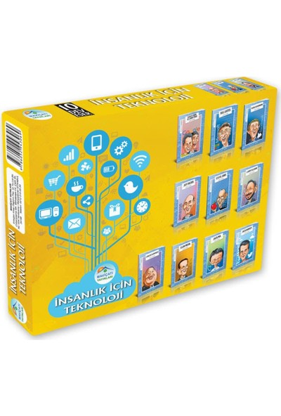 İnsanlık İçin Teknoloji Seti 10 Kitap