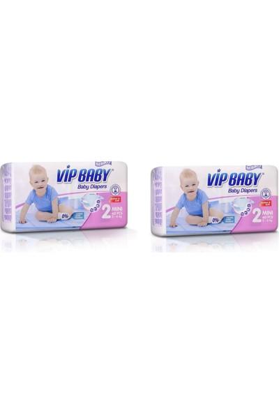 Vip Baby Active&Soft 2 Numara Mini 80 Adet Bebek Bezi