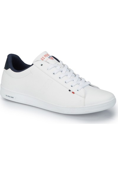 U.S. Polo Assn. Franco Beyaz Erkek Sneaker