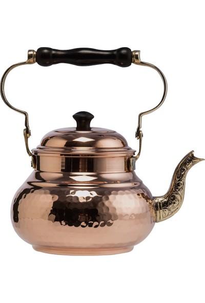 Demmex Bakır Otantik Osmanlı El Yapımı Çaydanlık, Bakır Dövme Çaydanlık