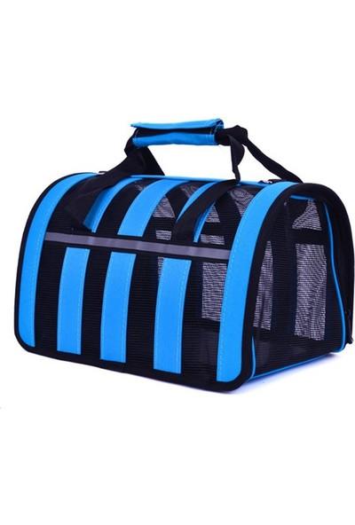 DK-008M Mavi Kedi-Köpek Taşıma Çantası 42*26*25