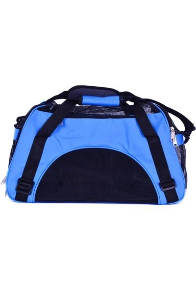 DK-009S Mavi Kedi-Köpek Taşıma Çantası 43*21*30
