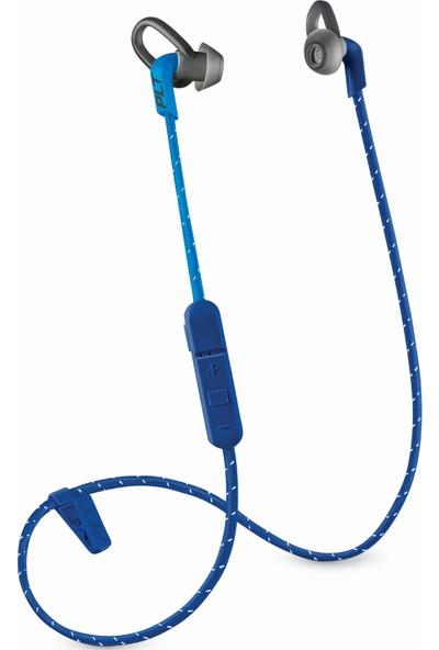 Plantronics BackBeat FIT 305 Suya Dayanıklı/Ter Geçirmez Kablosuz Spor Kulaklık Mavi (Taşıma Çantalı)