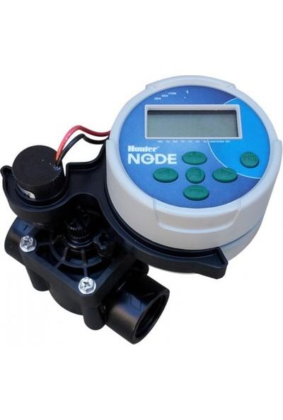 Hunter Node-100 (9V Pilli) - 1 Hat Sulama Zaman Saati - Vana Dahildir