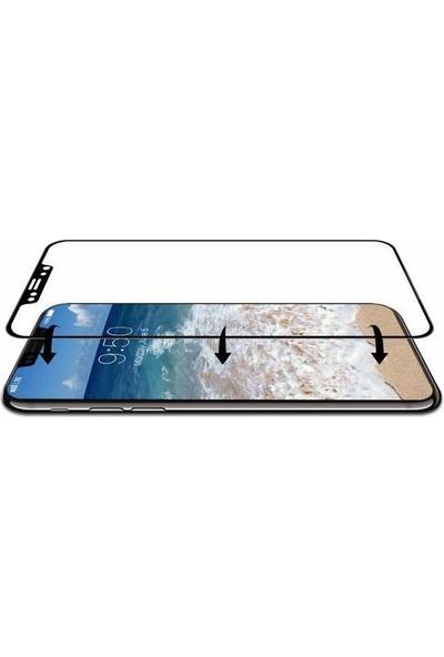 Eretna Apple iPhone X 7D 9H Cam Full Ekran Koruyucu - Siyah