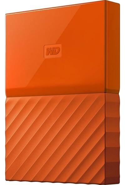 "WD My Passport 2TB2.5"" USB 3.0 Turuncu Taşınabilir Disk WDBS4B0020BOR-WESN"