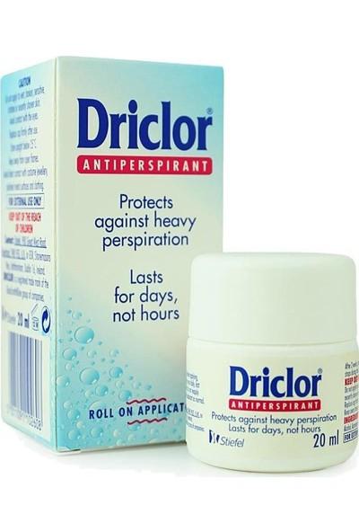 Driclor Solution Roll-on 20 ml - Antiperspirant