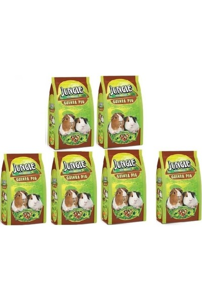 Jungle Ginepig Yemi 500 Gr x 6 ADET
