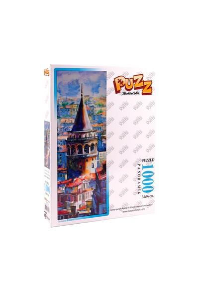 Puzz Galata Kulesi Panoramik Puzzle 1000 Parça