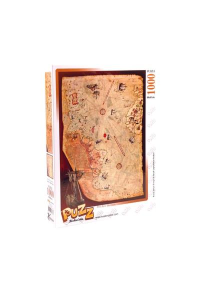 Puzz Puzzle Piri Reis Haritası (1000 Parça)