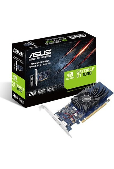 Asus GeForce GT1030 2GB GDDR5 Ekran Kartı GT1030-2G-BRK