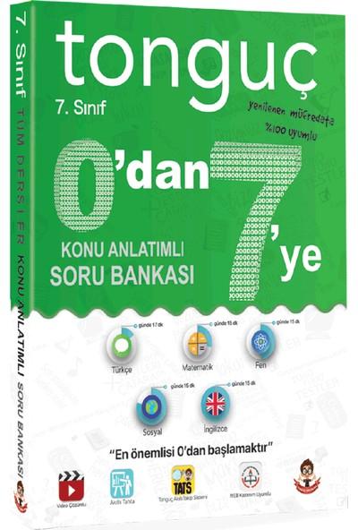 Tonguç Akademi Yayınları 7. Sınıf Tüm Dersler Konu Anlatımlı Soru Bankası